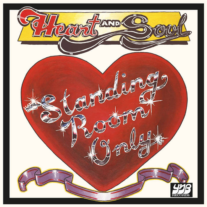 【LP】STANDING ROOM ONLY – HEART AND SOUL <EVERLAND>EVERLAND017LP